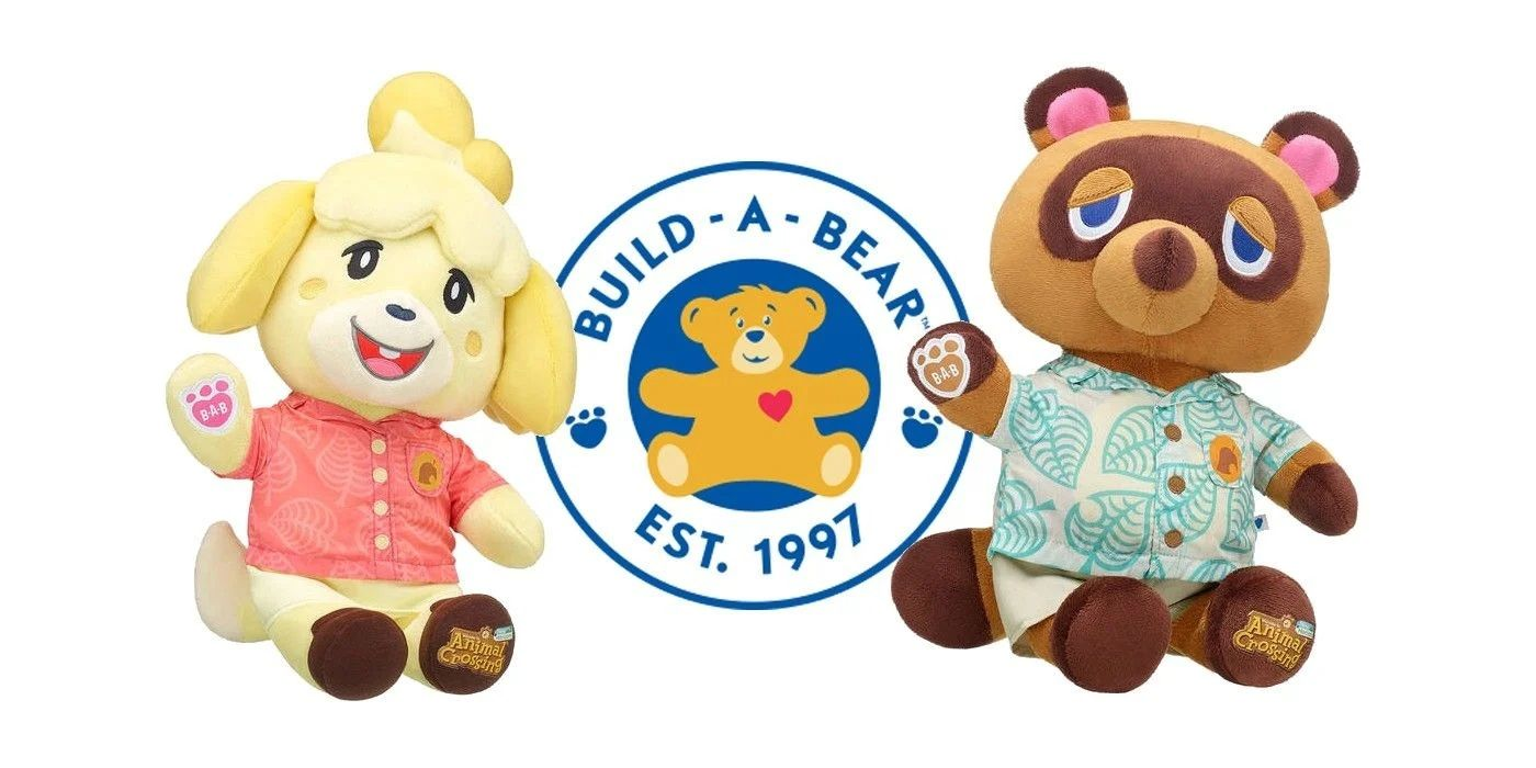 Animal Crossing Build-A-Bears Release in Nintendo Stores