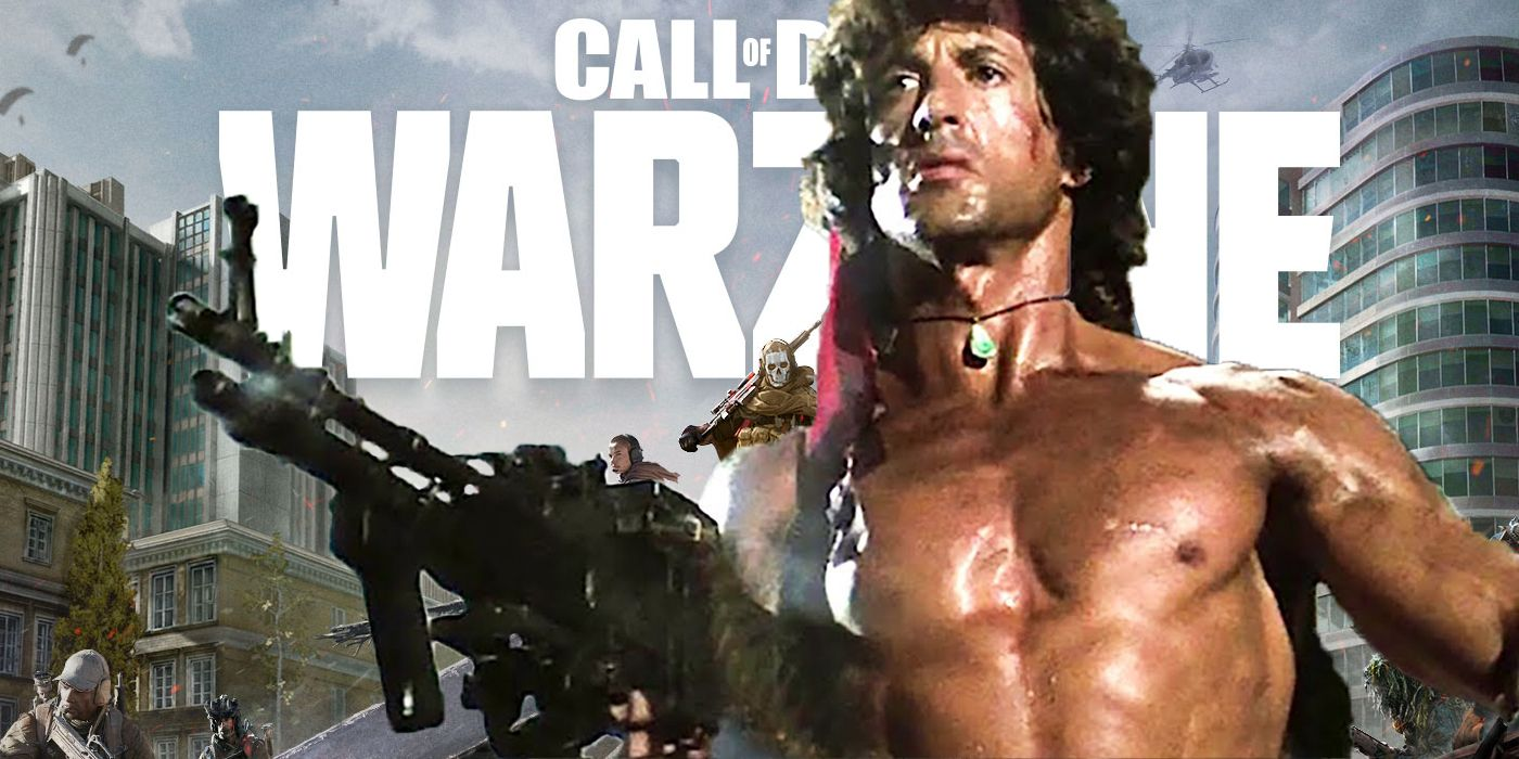 Call of Duty Twitter Is Teasing A Potential Rambo Crossover
