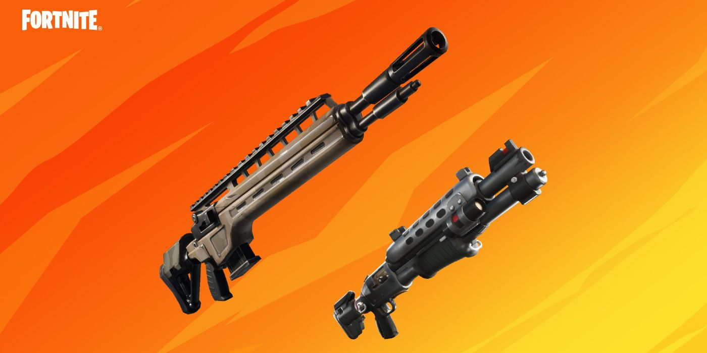 Fortnite Guns Ranked Fortnite Is Bringing Back The Tactical Shotgun And Infantry Rifle
