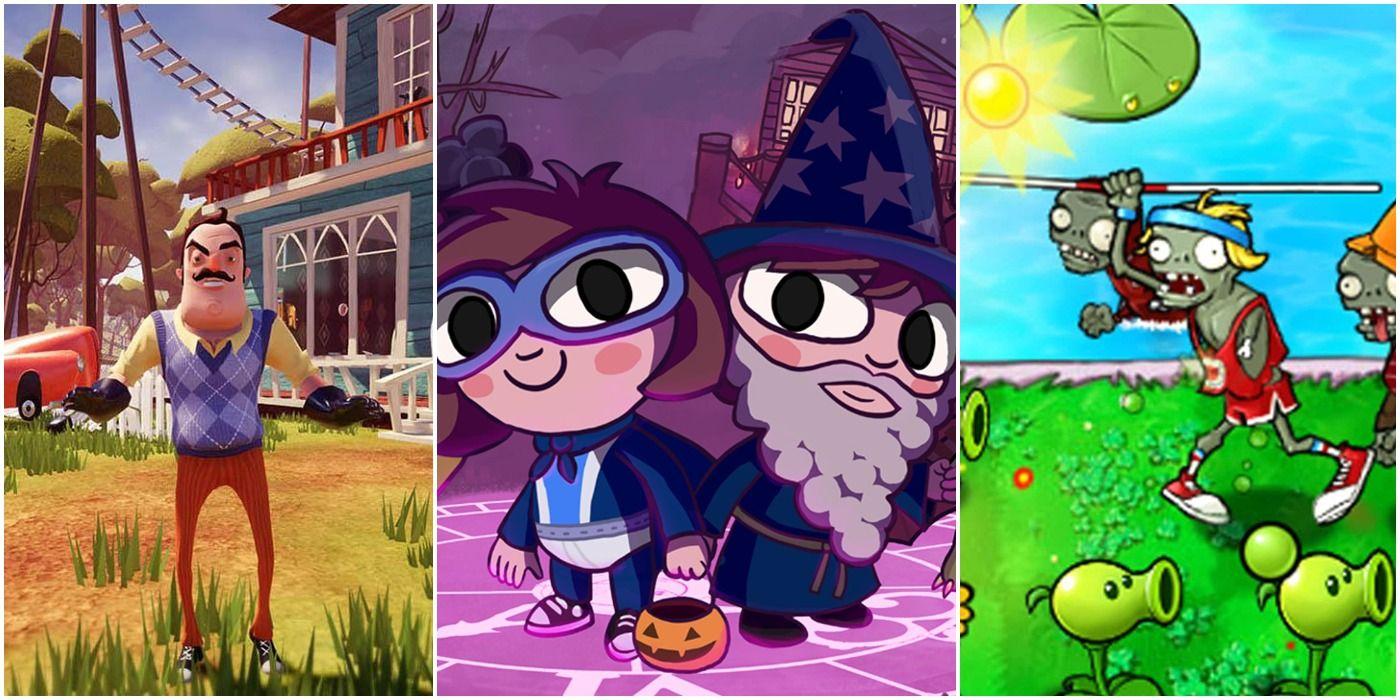 10 Best Horror Games For Kids | Game Rant
