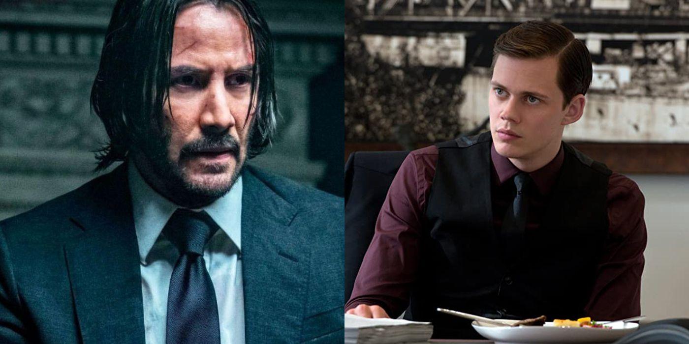 Bill Skarsgard In Talks To Join Keanu Reeves In 'John Wick 4'