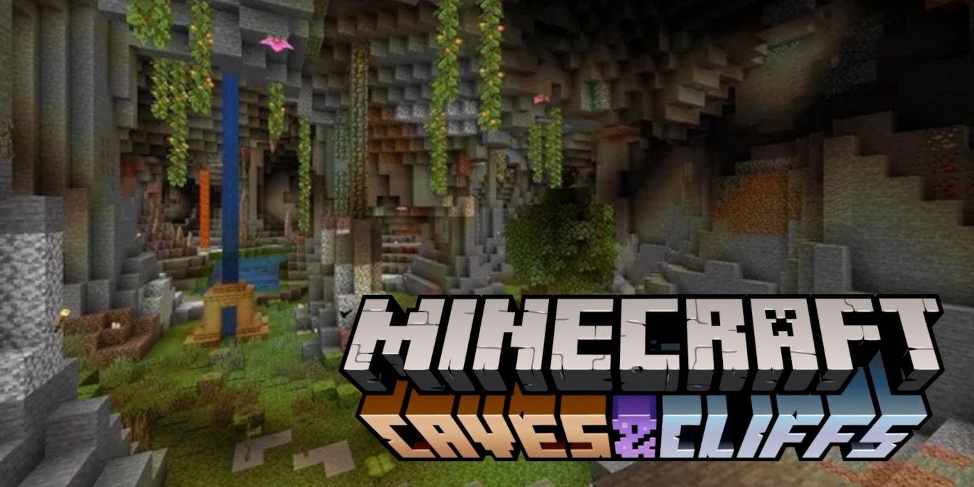 diem moi trong ban cap nhat minecraft caves and cliffs