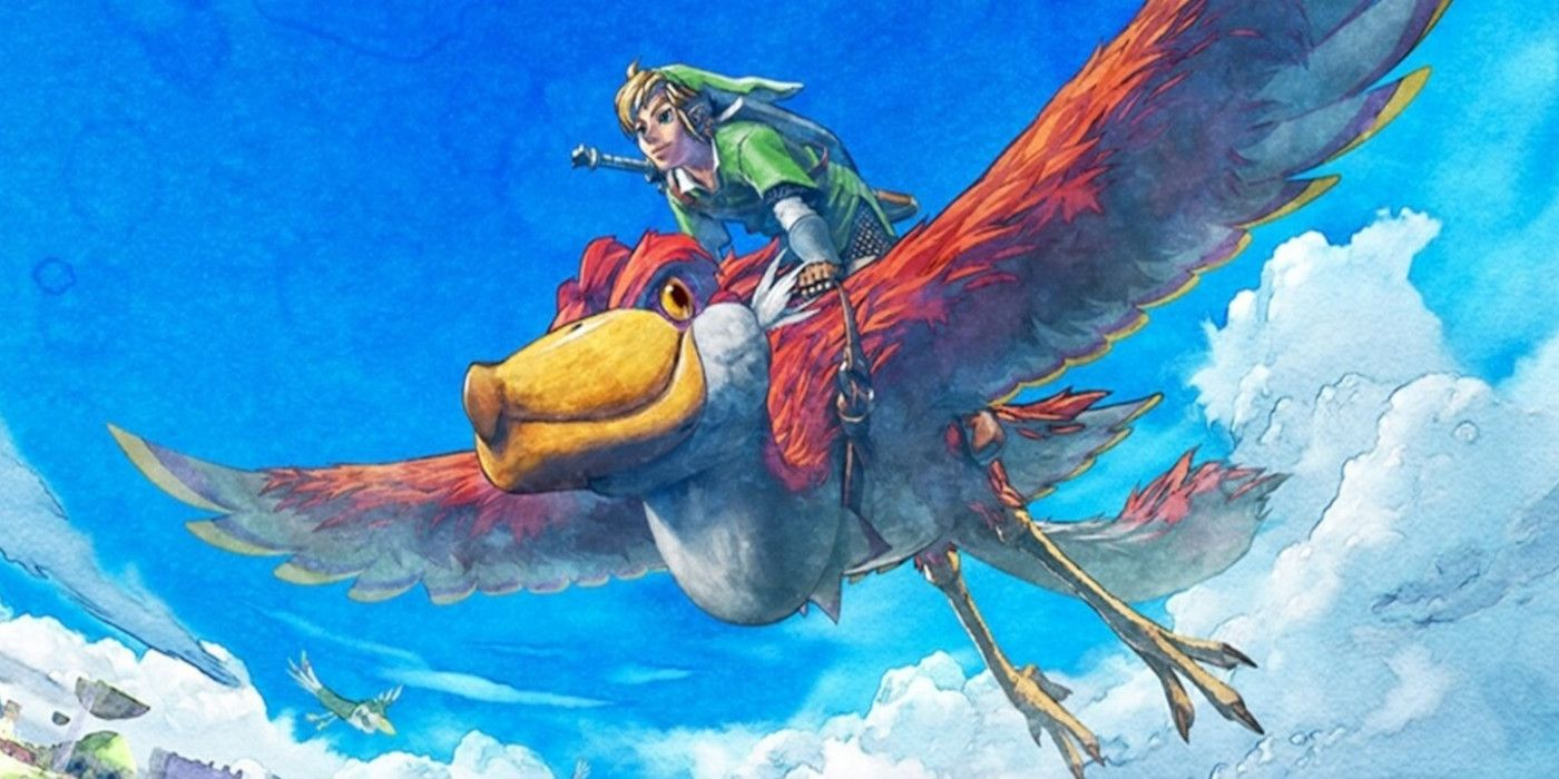 Zelda: Skyward Sword – How to Land Your Bird   Game Rant