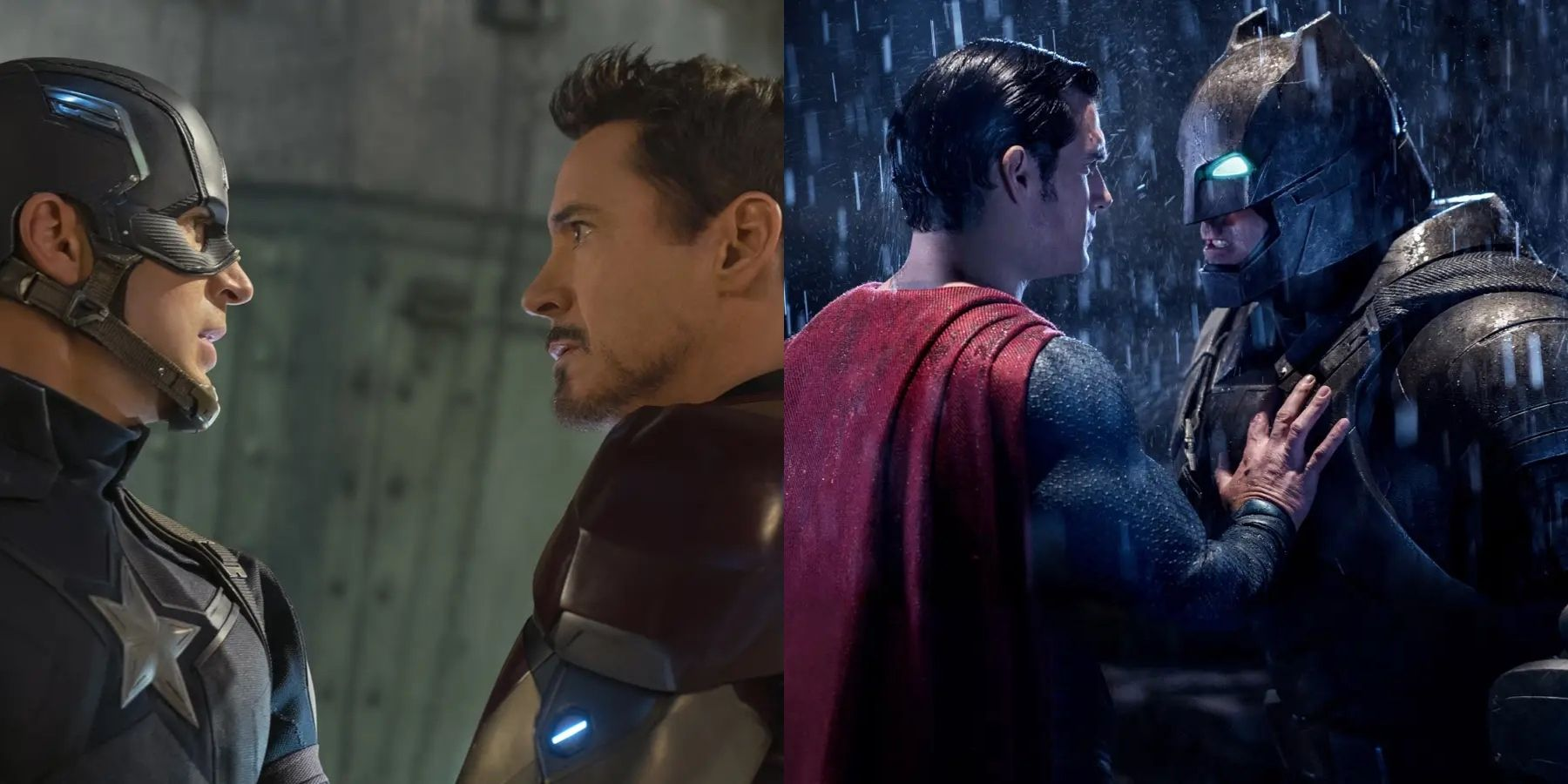 Which 2016 Superhero Film Was Better At Pitting Heroes Against Each Other?