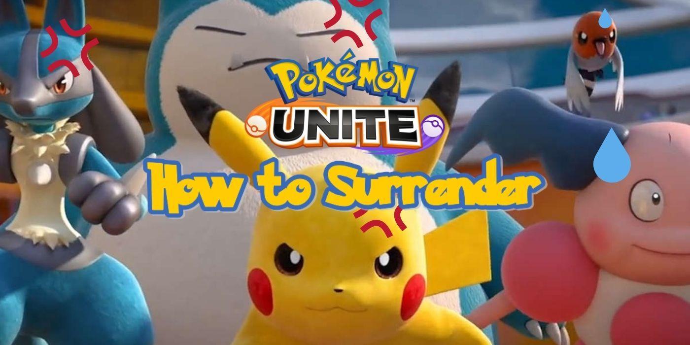 Pokemon Unite – How to Surrender | Game Rant