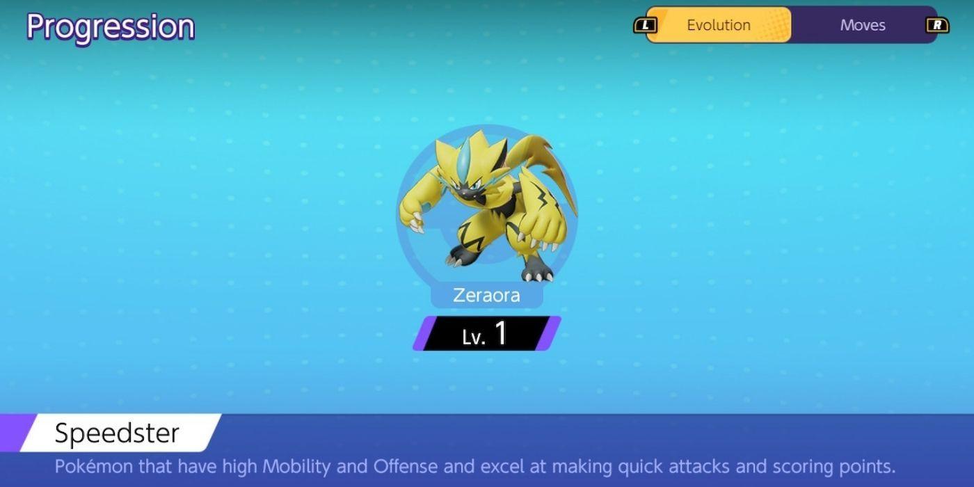 Pokemon Unite: Zeraora Builds | Game Rant