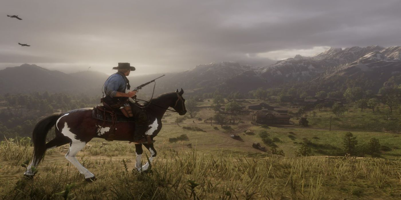 Red Dead Redemption 2 Map Shows How Game World Corresponds to Real States