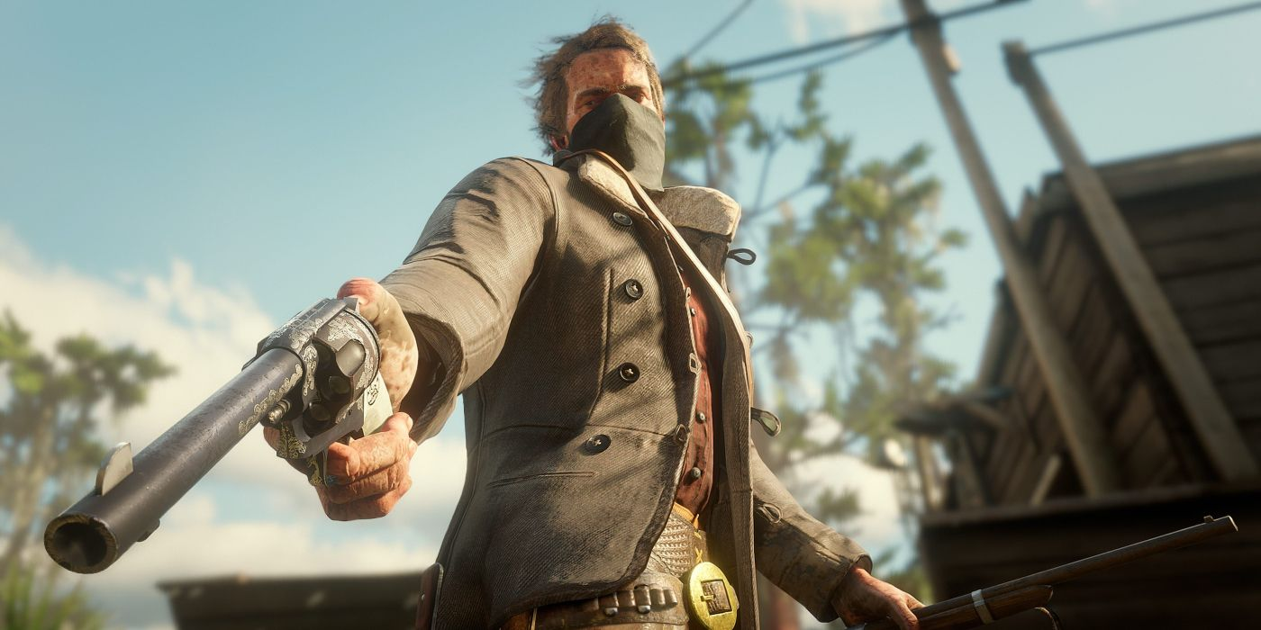 Red Dead Redemption 2 Fan Discovers Special Arthur Morgan Dialogue When Chasing Witness