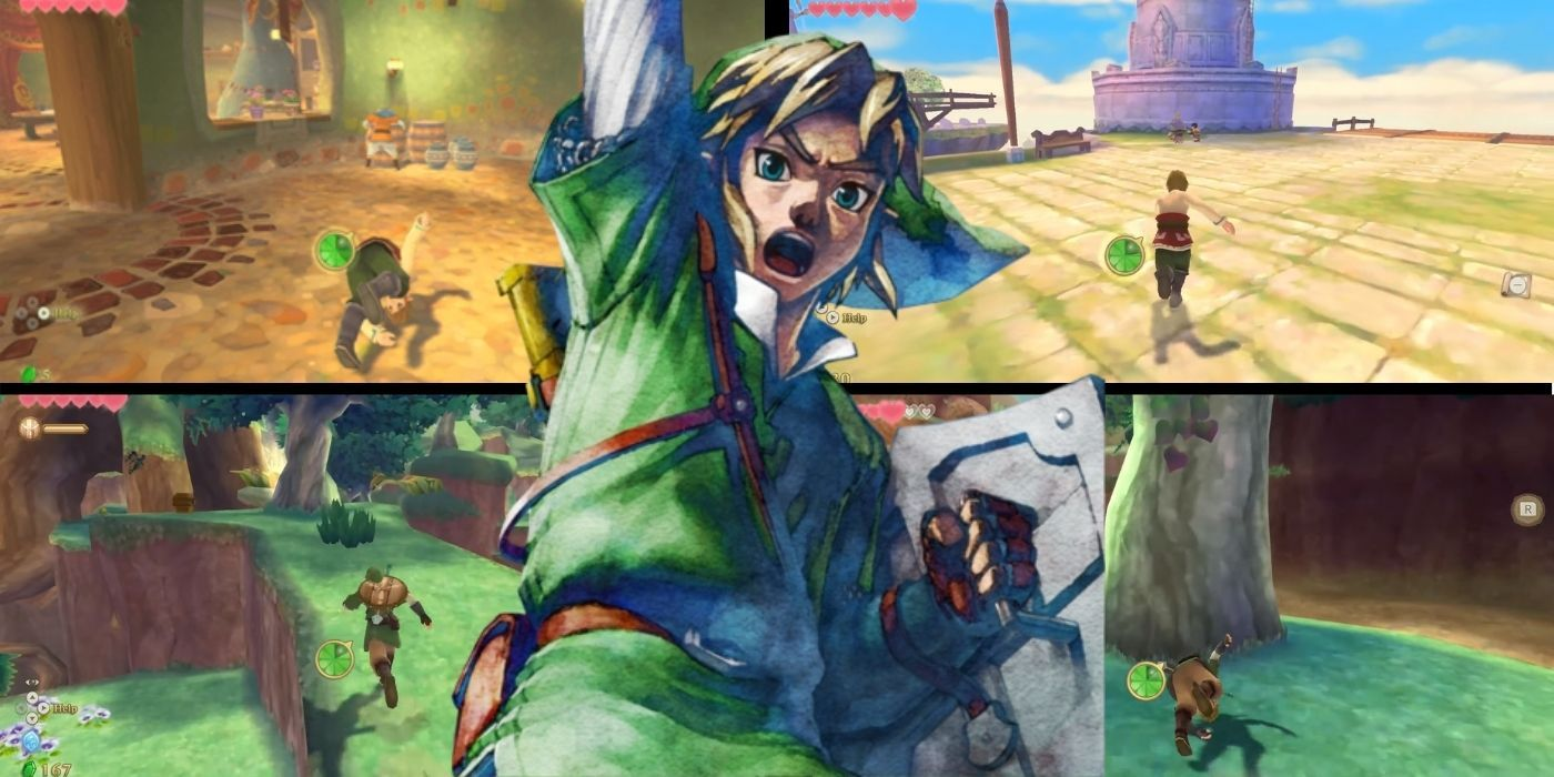 The Legend of Zelda: Skyward Sword HD – How to Roll | Game Rant