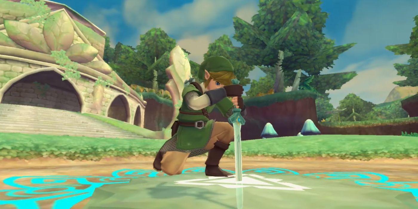 The Legend of Zelda:Skyward Sword HD ,controles de botão irão beneficiar os loftwings 3