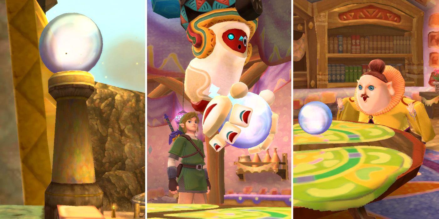 The Legend of Zelda: Skyward Sword HD: How To Complete The Broken Crystal Ball Side Quest