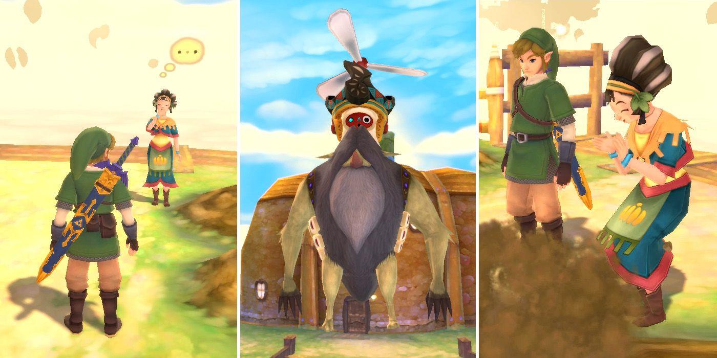 The Legend of Zelda: Skyward Sword HD: How To Complete The Pumpkin Harvest Side Quest