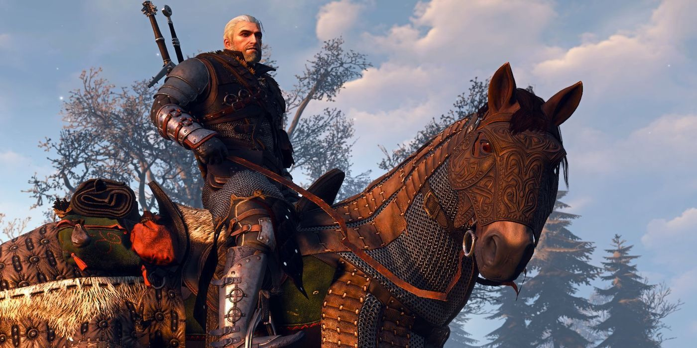 The Witcher Cosplay Features Geralt and Roach | Game Rant