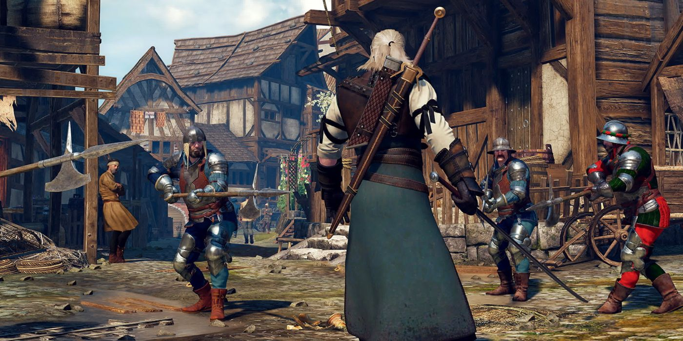 The Witcher 3 Mod Ups the Game's Blood and Gore | Game Rant