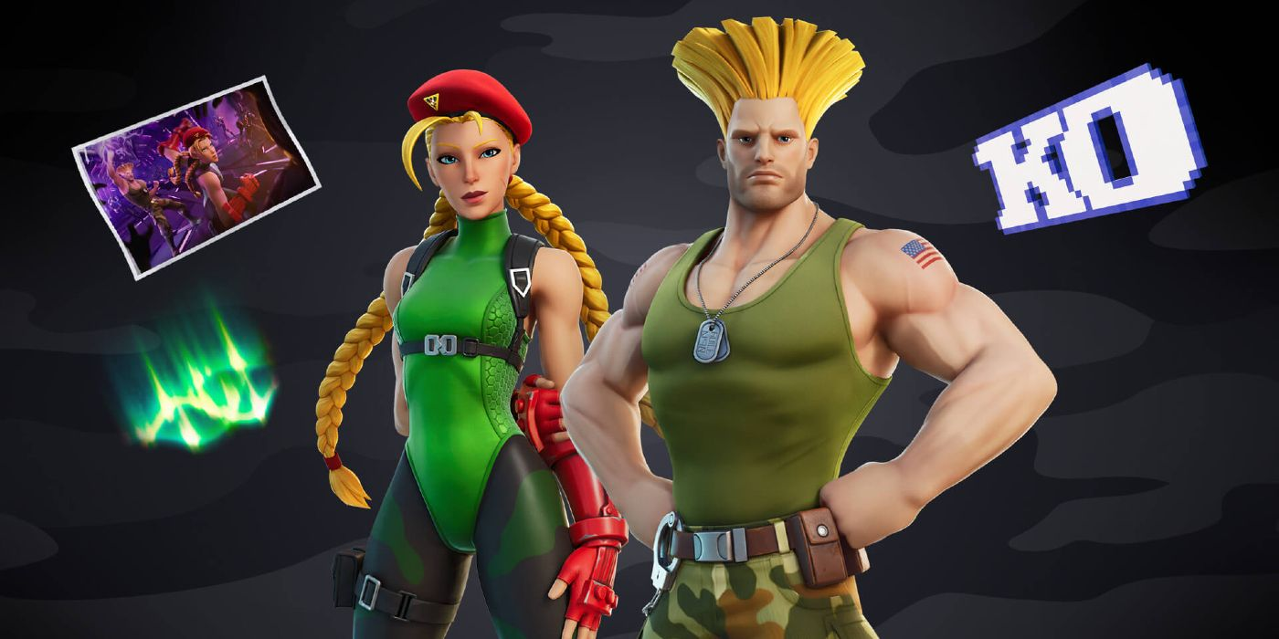 Fortnite is Adding Skins for Street Fighter's Cammy and Guile