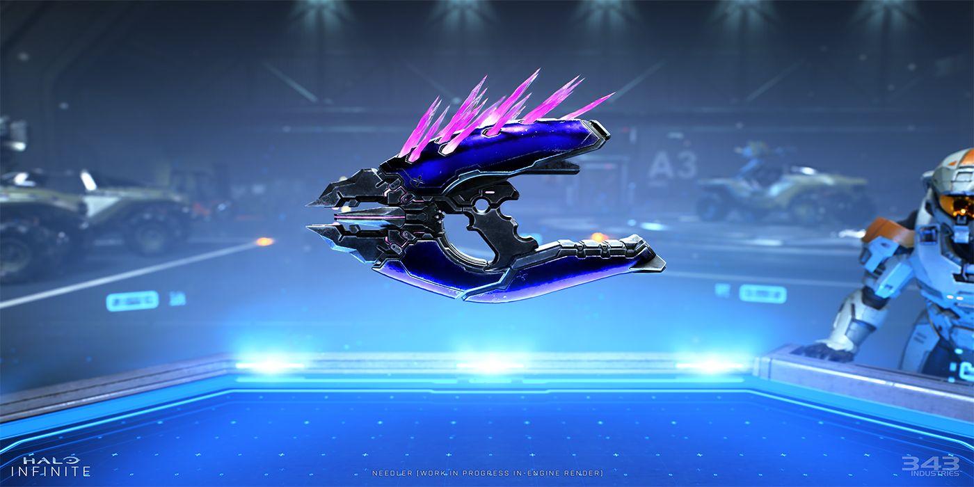Gorgeous Custom Xbox Series X Controller is Based on Halo's Needler