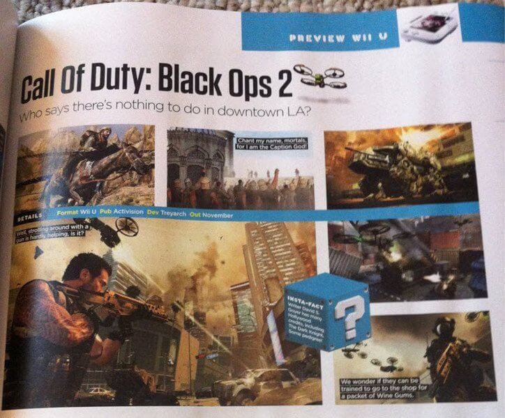 Black Ops 2' Will Be Wii U Launch Title in November? | Game Rant