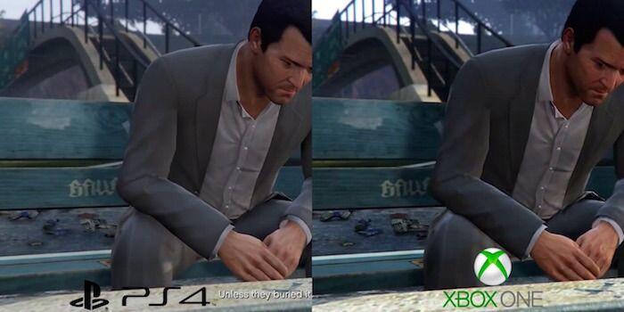 Grand Theft Auto 5' PS4/Xbox One Comparison Video