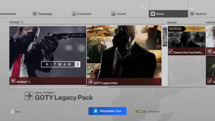 Hitman 2: How to Redeem the Legacy Pack DLC | Game Rant