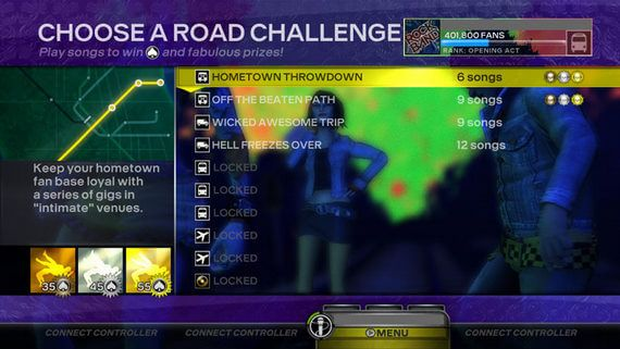 Rock Band 3's Road Challenges Take You For A Ride | Game Rant