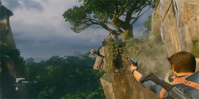 Uncharted 4 Watch Over A Half Hour Of Gameplay Footage