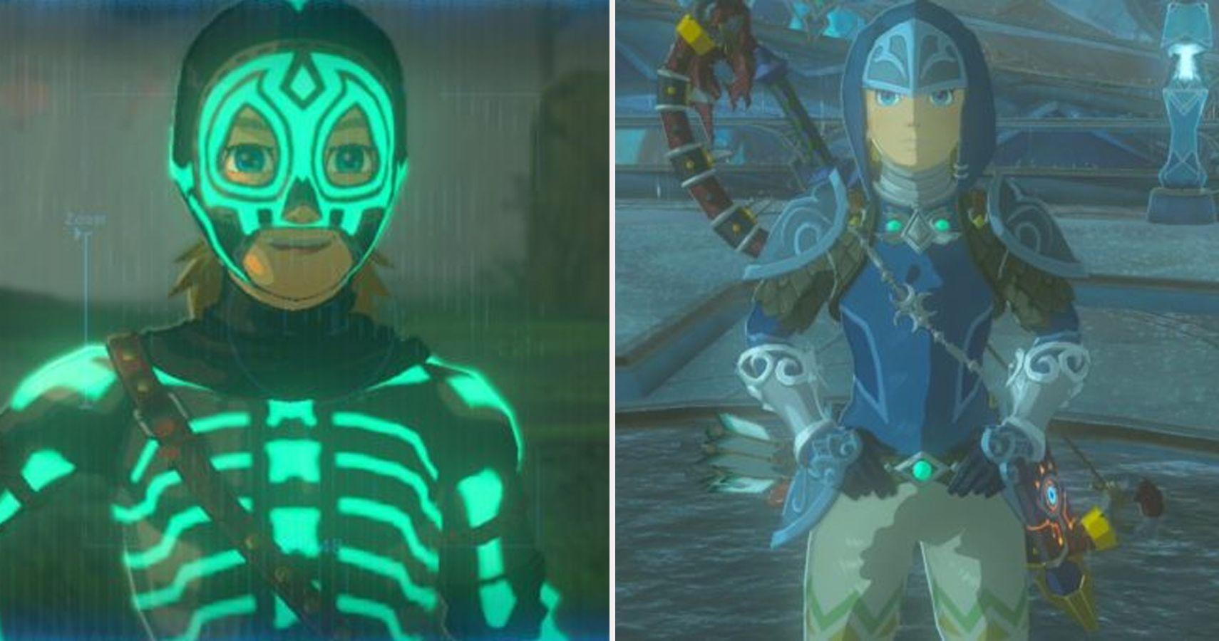 Every Legend Of Zelda Breath Of The Wild Costume Ranked