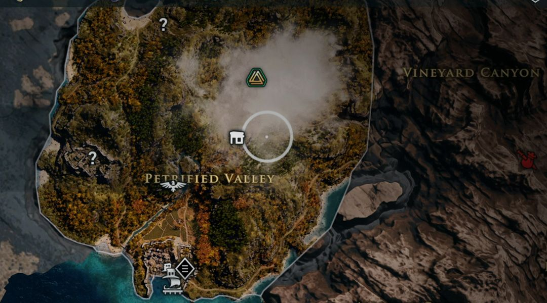 Assassin S Creed Odyssey Full World Map Revealed Game Rant