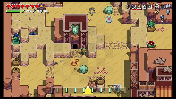 Cadence Of Hyrule How To Get Gears Game Rant