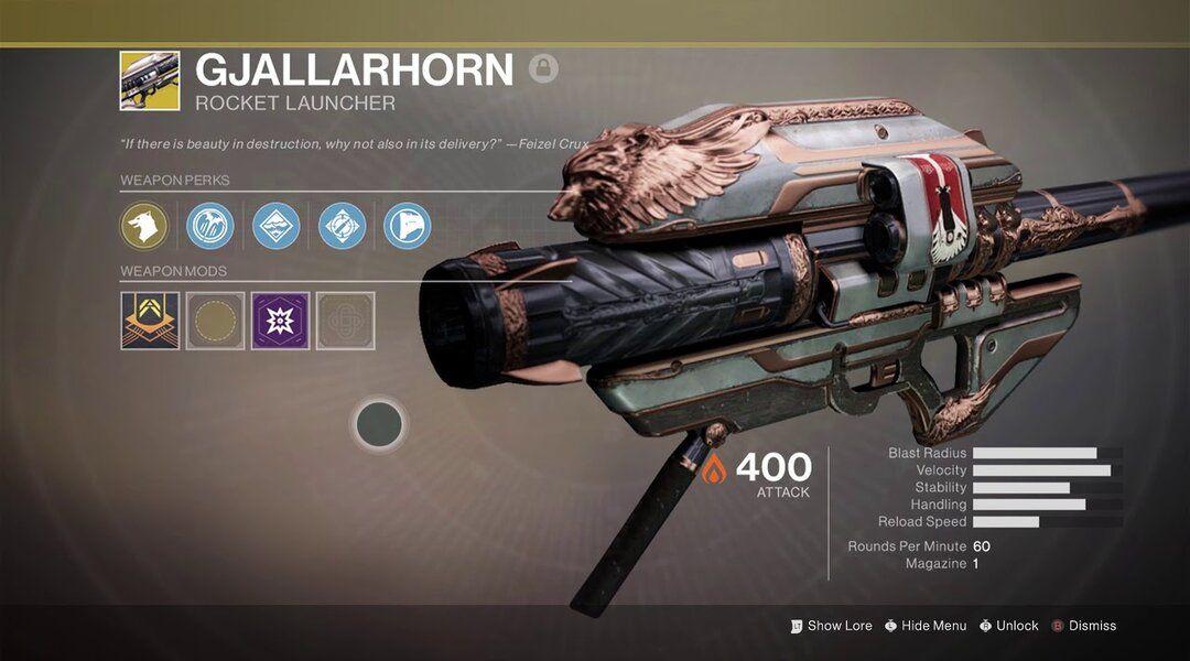 Destiny 2 Bringing Back Gjallarhorn? | Game Rant