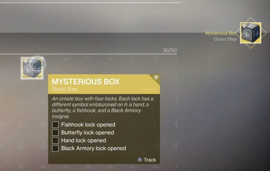 Destiny 2: How to Open the Fishhook Lock on the Mysterious Box