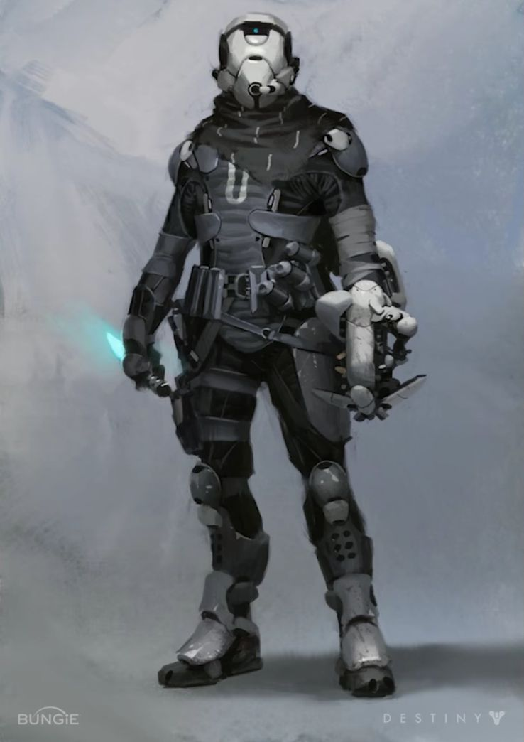 Unreleased Destiny Concept Art Revealed By Bungie Game Rant