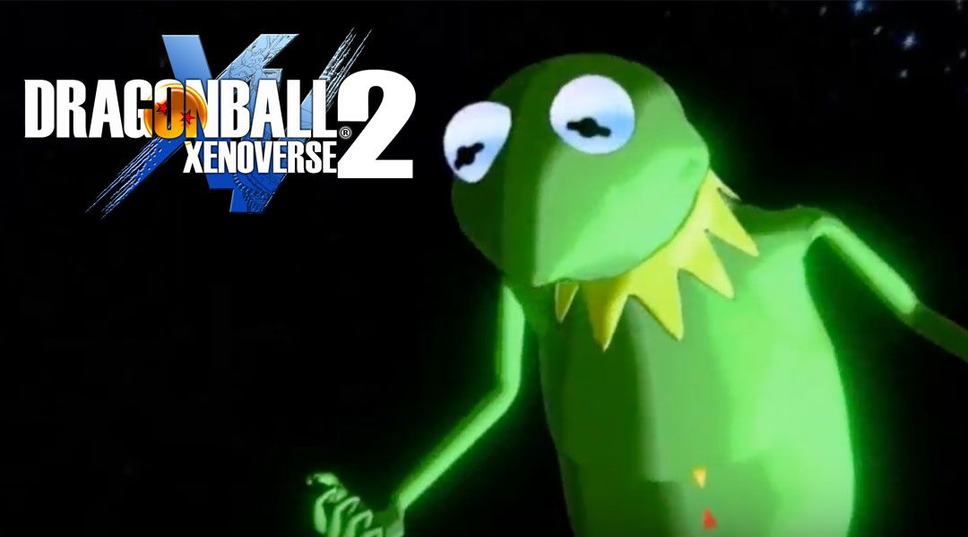 Someone Modded Kermit the Frog into Dragon Ball Xenoverse 2 And It's