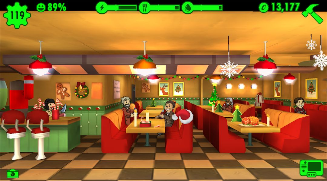 Fallout Shelter Gets a Christmas Update | Game Rant