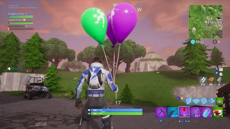 Mobile Fortnite How To Pop Balloons Fortnite How Do Balloons Work Game Rant