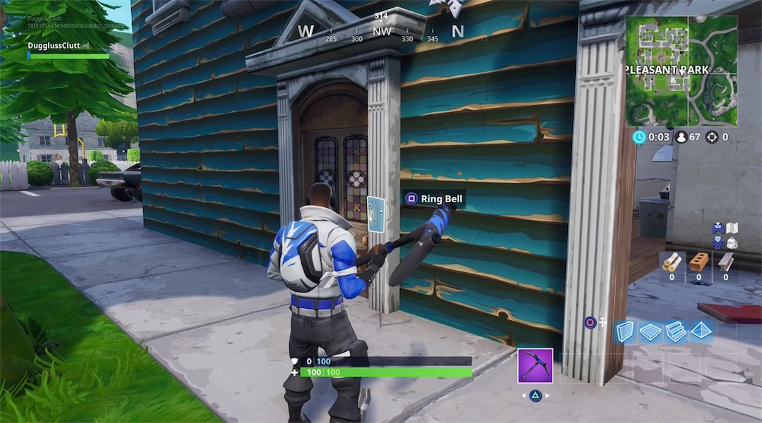 Ring A Doorbell In Different Locations Fortnite Season 7 Fortnite Where To Find Doorbells For Season 7 Game Rant