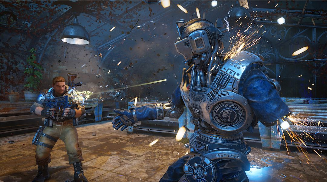 Gears of War 4 Video Analyzes Xbox One vs PC | Game Rant