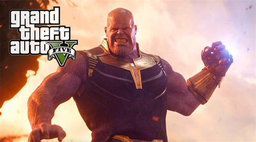 Grand Theft Auto 5 Mod Adds Thanos | Game Rant