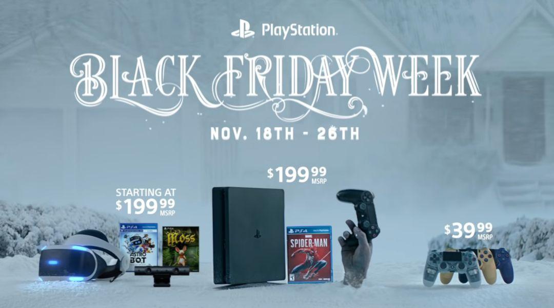 Playstation Reveals Black Friday 2018 Ps4 Ps Vr Deals
