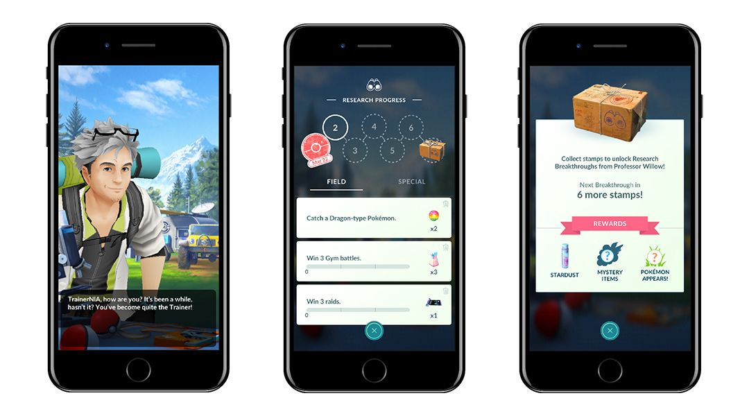 Pokemon GO: All Field Research Encounter Rewards For June