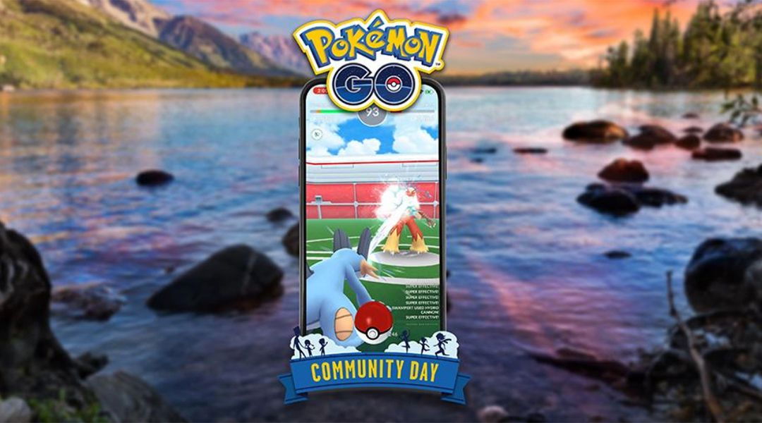 Pokemon GO: Swampert July Community Day Exclusive Move Confirmed
