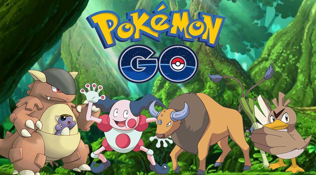 Pokemon GO Guide: How To Catch All Region Exclusive Pokemon